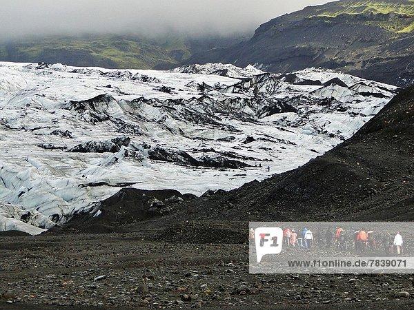 Ice Mountain  Jokulsarlon  Iceland.