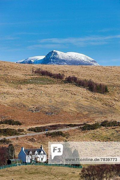 Europa Großbritannien Highlands Ansicht 7 sieben schottische Highlands