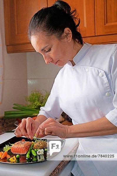 Chef in Küche