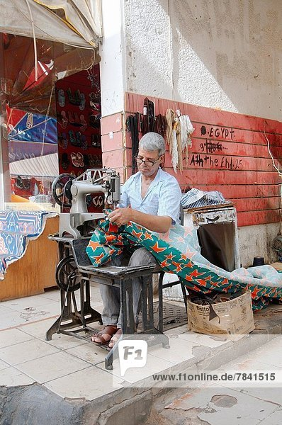 Mister sew curtain  Old Market  Sharm el-Sheikh  Sinai Peninsula  Egypt.