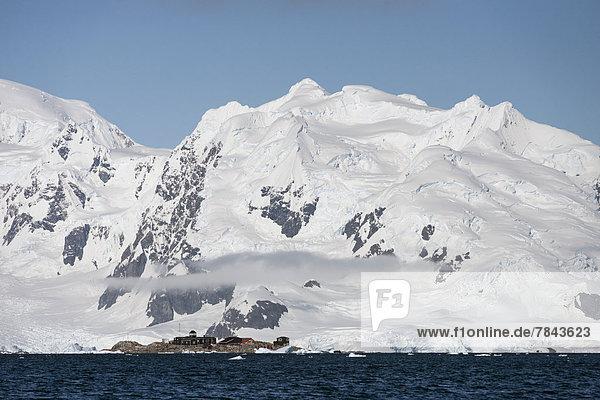 González Videla Antarctic Base  a Chilean research station