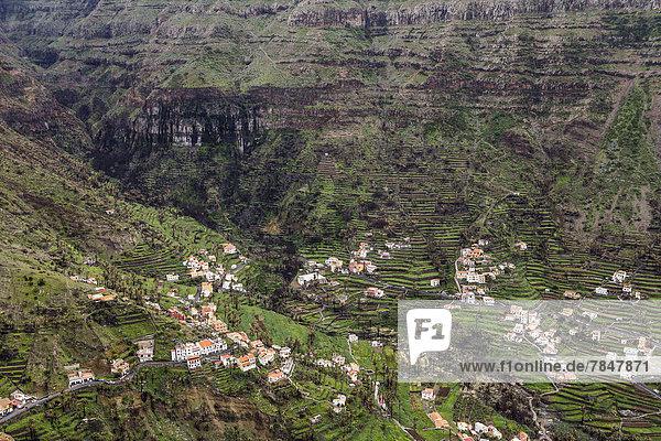 Spain  La Gomera  View of Valle Gran Rey