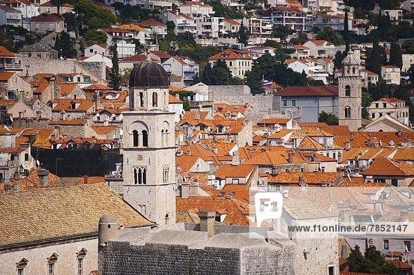 Europa  Altstadt  UNESCO-Welterbe  Kroatien  Dubrovnik