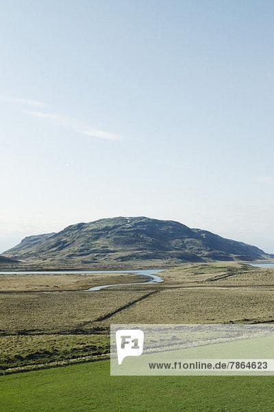Panorama von der Kirche Skalholt  Island
