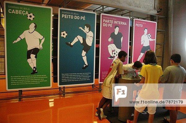 São Paulo  Brazil  Museu do Futebol at the Pacaembu Stadium