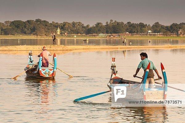 See  Boot  Fischer  Rudern  Myanmar  Amarapura