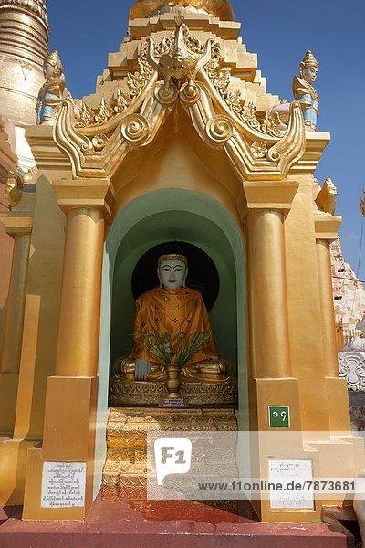 Statue  Myanmar  Buddha  Pagode