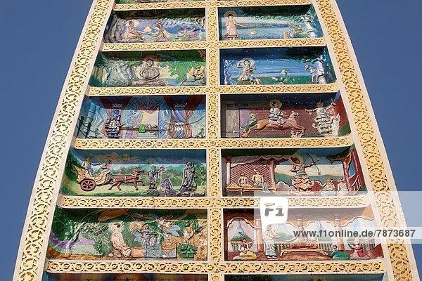 Wiederholung  Gemälde  Bild  Myanmar