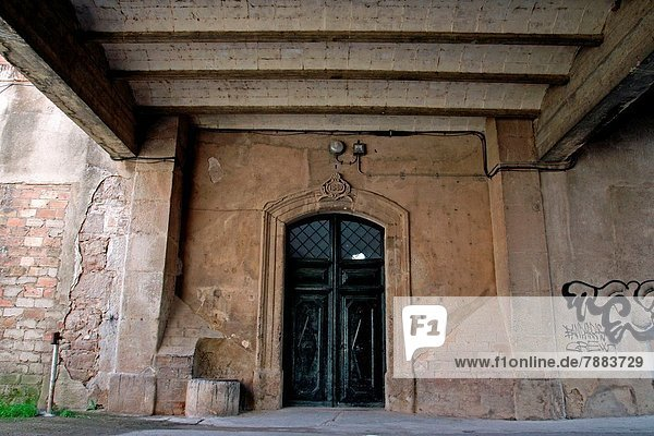 Eingang Katalonien Spanien