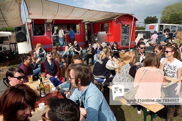 Lebensmittel  Fuhrwerk  Festival  Niederlande
