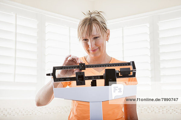 Europäer  Frau  Gewicht