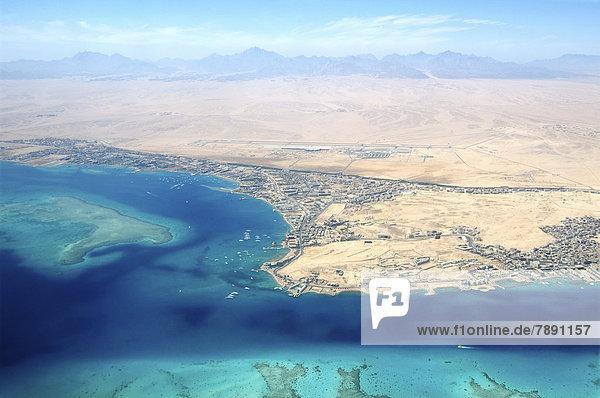 Luftbild  Rotes Meer