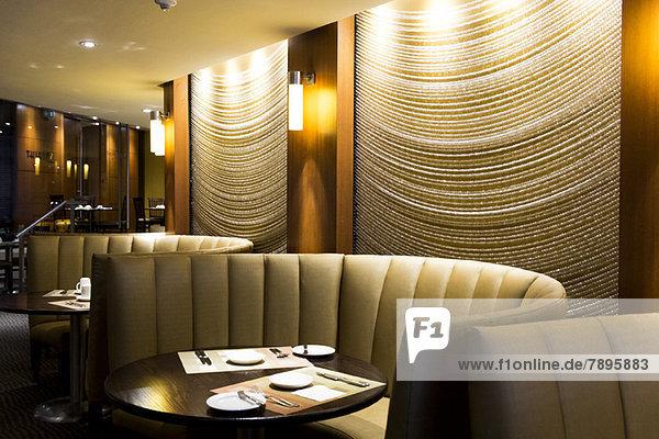 Essplatz in einem Restaurant