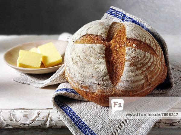 Englisches Bio-Roggenbrot vom Bäcker