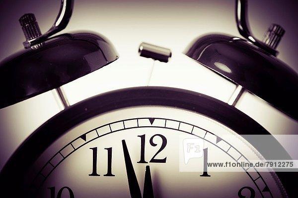 Lifestyle  Retro  Uhr  alarmieren