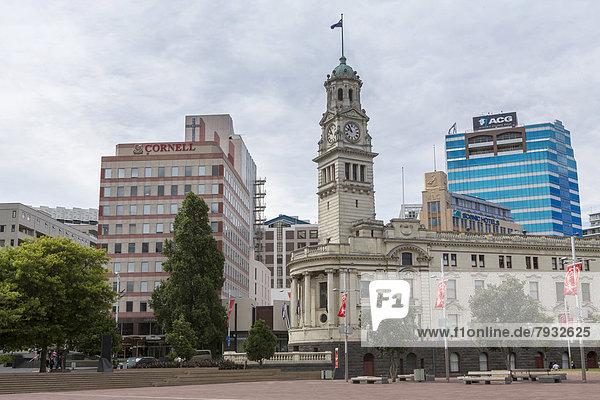 Aotea Square mit historischem Town Hall Gebäude