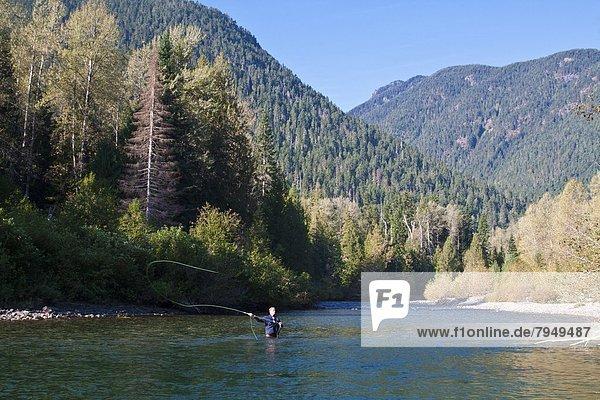 Fluss  angeln  Skagit County
