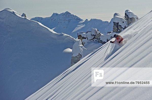 rennen  Ski  Start
