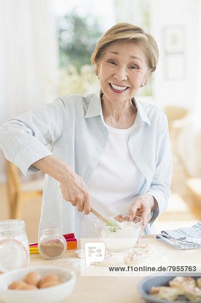 Senior,  Senioren , kochen , Frau , Küche