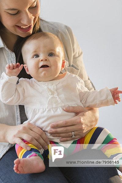 Spiel  Tochter  Mutter - Mensch  Baby