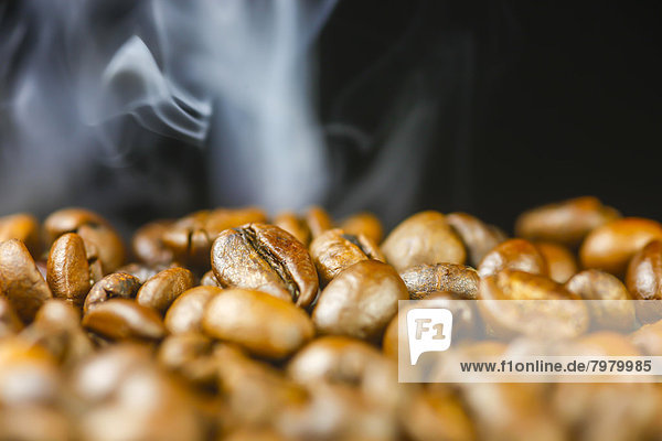 Germany  Roasted coffee beans  close up