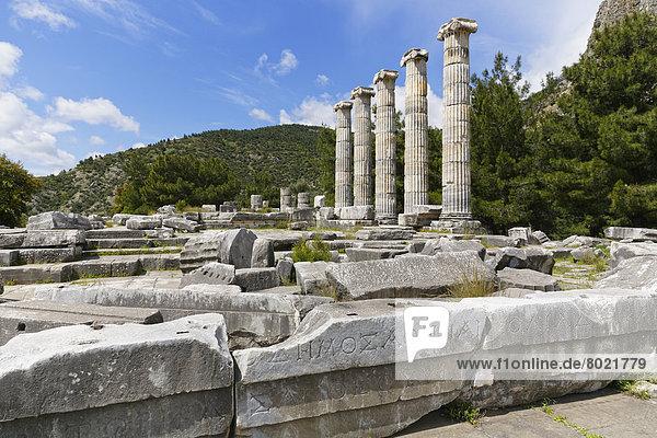 Ruine des Athena-Tempels