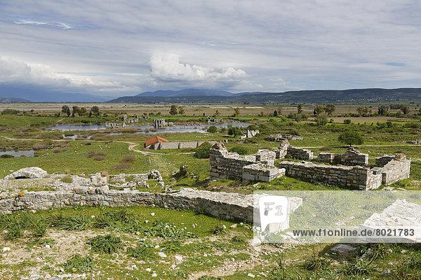 Blick über Nordagora  antike Stadt Milet