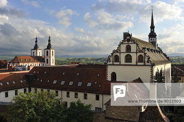 Pfarrkirche St. Blasius  Benediktinerinnenabtei St. Maria mit Klosterkirche