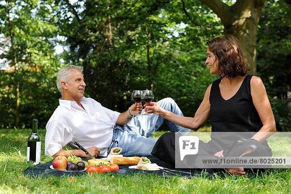 Best Ager - ein Sommertag im Park