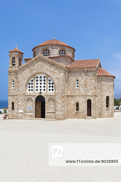 A church building Agios georgios cyprus