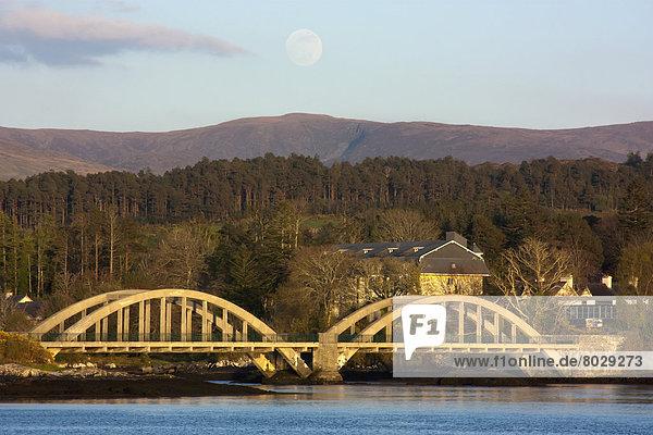 überqueren Brücke Fluss 2