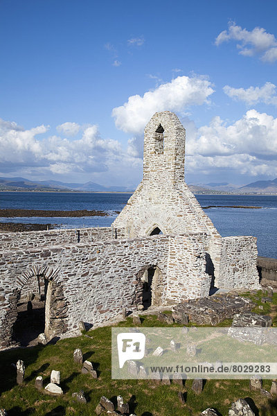 The abbey at ballinskelligs County kerry ireland