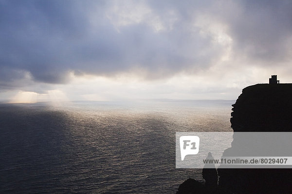 Cliffs of moher at sunset County clare ireland