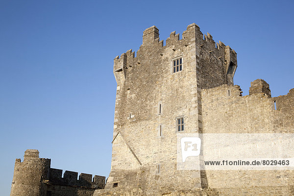 Ross castle at lough leane Killarney county kerry ireland