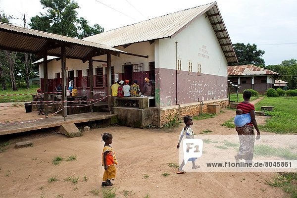 hospital in Bossangoa  central african republic.