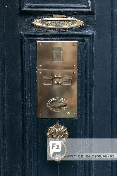 Door Bell  Venice  Italy.