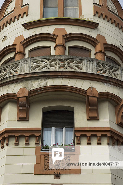 Building detail  Maribor  Slovenia