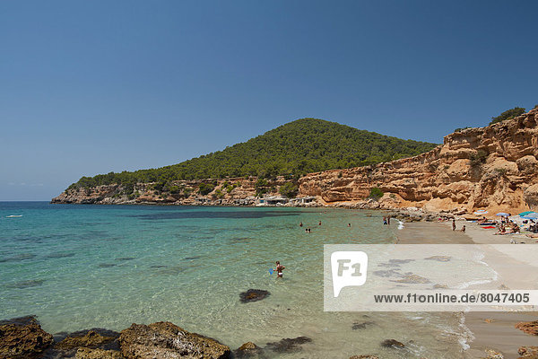 Küste  Ibiza  Spanien