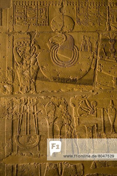 Wand  Ägypten  Karnak  Luxor
