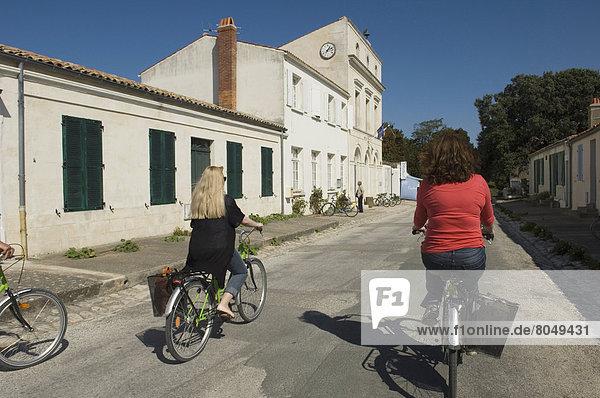 Cycling around Ile-d'Aix  Charente-Maritime  Poitou-Charentes  France