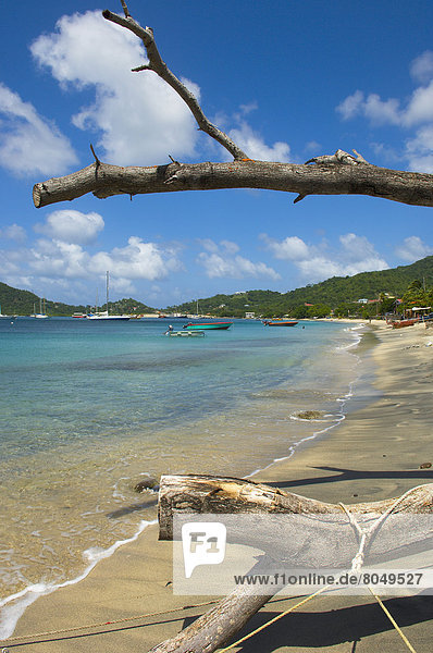 View of Tyrrel Bay  Carriacou Island  Grenadines  Grenada  Caribbean
