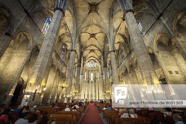 Kirche  Barcelona  Spanien