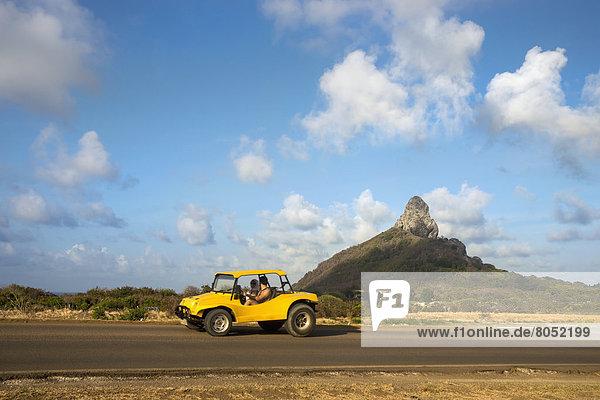 Auto  gelb  Hintergrund  Brasilien  Pernambuco