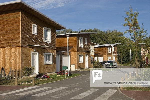 Freundschaft Ökologie Blockhaus Holzhäuser