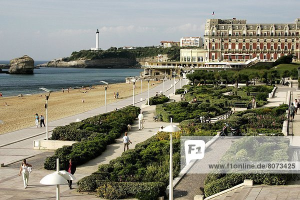 'The ''Hotel du Palais'' in Biarritz is one of the eight French palaces  with the hotels Le Bristol  Le Meurice  Parc Hyatt Vendome  Plaza-Athenee in Paris  the hotels Les Airelles  Le Cheval Blanc in Courchevel (Savoy)  and the Grand Hotel Cap Ferrat in Saint-Jean-Cap-Ferrat (Alpes-Maritimes department).'