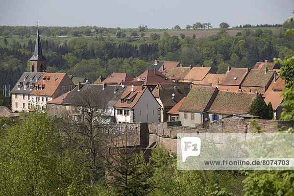 Village of La Petite-Pierre (67)