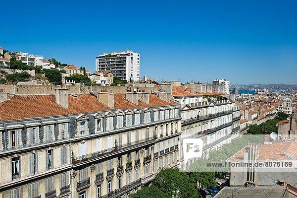 Gebäude Großstadt Mittelpunkt Marseille