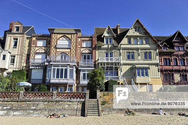 Küste Meer Vielfalt Urlaub Villa Architektur rechts