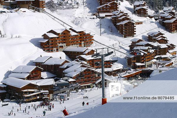 Frankreich Urlaub Wintersportort