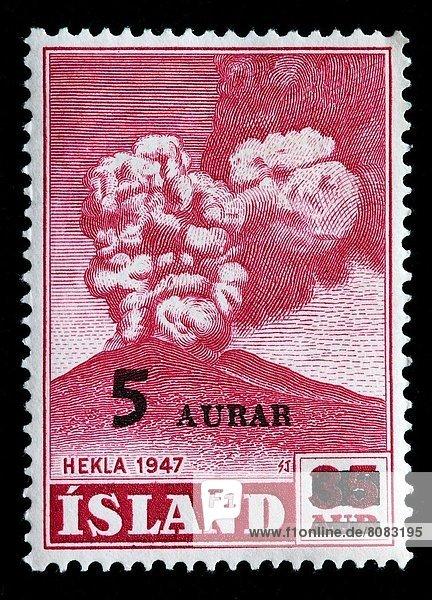 Island  Briefmarke